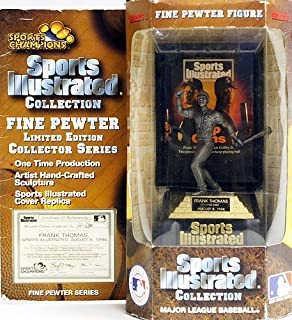 Sports Illustrated Collection Frank Thomas Fine Pewter Limited Edition Collector Series Figure by Sports Champions [並行輸入品]