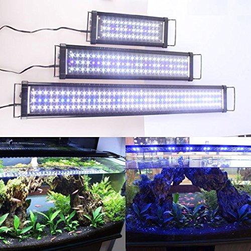 Etime LED Aufsetzleuchte IP67 Aquarium Aquariumlampe Beleuchtung für 120-140cm Aquarium (120-140cm) - 3