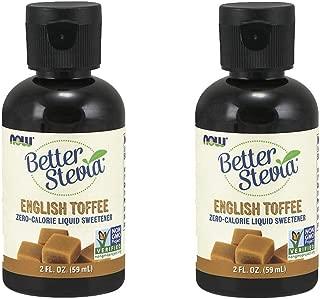 Better Stevia Liquid Sweetener English Toffee, English Toffee 2 fl oz (Pack of 2)