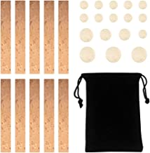 COCODE 27 Pieces Clarinet Instrument Repair Accessories Replacement Kits with 10 Pieces Clarinet Neck Joint Cork Sheet and...