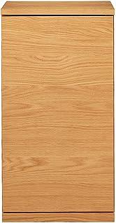 無印良品 木製キャビネット・木扉・スリム・オーク材 幅44×奥行44×高さ83cm 82218923