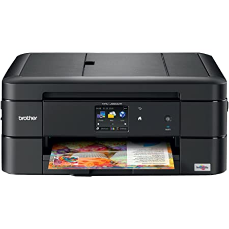 Brother MFC-J680DW All-in-One Color Inkjet Printer, Wireless Connectivity, Automatic Duplex Printing, Amazon Dash Replenishment Ready