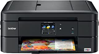 Brother MFC-J680DW All-in-One Color Inkjet Printer, Wireless Connectivity, Automatic Duplex Printing, Amazon Dash Replenis...