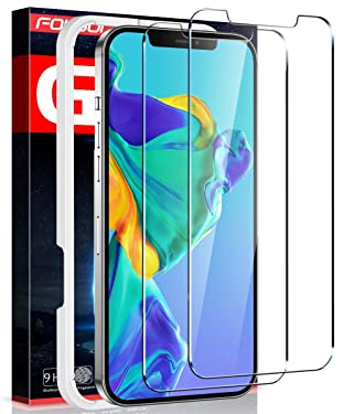 Fotbor for iPhone 12 Pro Max Screen Protector, 9H Tempered Glass Screen Protector for iPhone 12 Pro Max [Upgraded Shatterproof] Case Friendly HD Clear Film for Apple iPhone 12 Pro Max 6.7Inch - 2 Pack