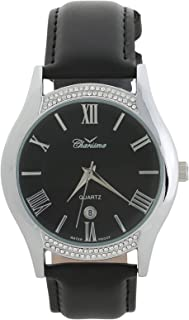 Charisma Casual Watch for MenLeather B and, Analog, C6902