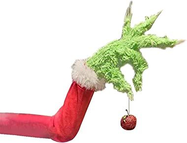 Christmas Wreath,Elf Body for Christmas Tree Decoration,Christmas Tree Ornament,Christmas Thief Stole Christmas Grinch Burlap