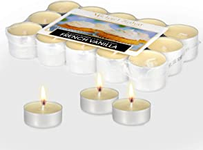 Michael Zohar Candles Scented Tealight 30 Pack Premium Light, for Spa, Meditation, Romantic Decor, Long Burning, Smokeles...
