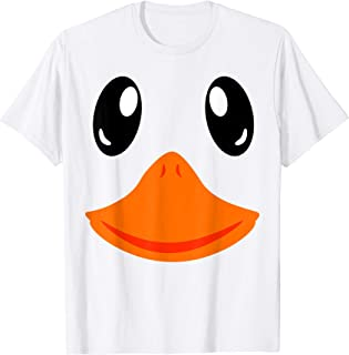 Matching Group Outfit Cute Halloween Goose Costume Duck Face T-Shirt