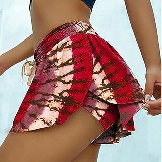 ArcherWlh Leggingsset för kvinnor, europeiska och amerikanska sommartryck yoga sport badkläder shorts