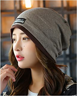 No.66 TOWN Unisex Adult Cotton Slouchy Beanie Skull Cap Cycling Hat Mult Colors