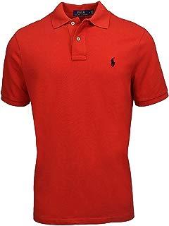 RALPH LAUREN Polo de Malla Polo Classic Fit, Rojo, XX-Large
