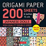 Origami Paper 200 sheets Japanese Dolls 6' (15 cm): Tuttle Origami Paper: High-Quality Double Sided...