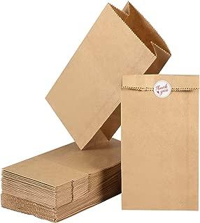 Toyvian Paper Lunch Bags 7 x 6 x 2.2