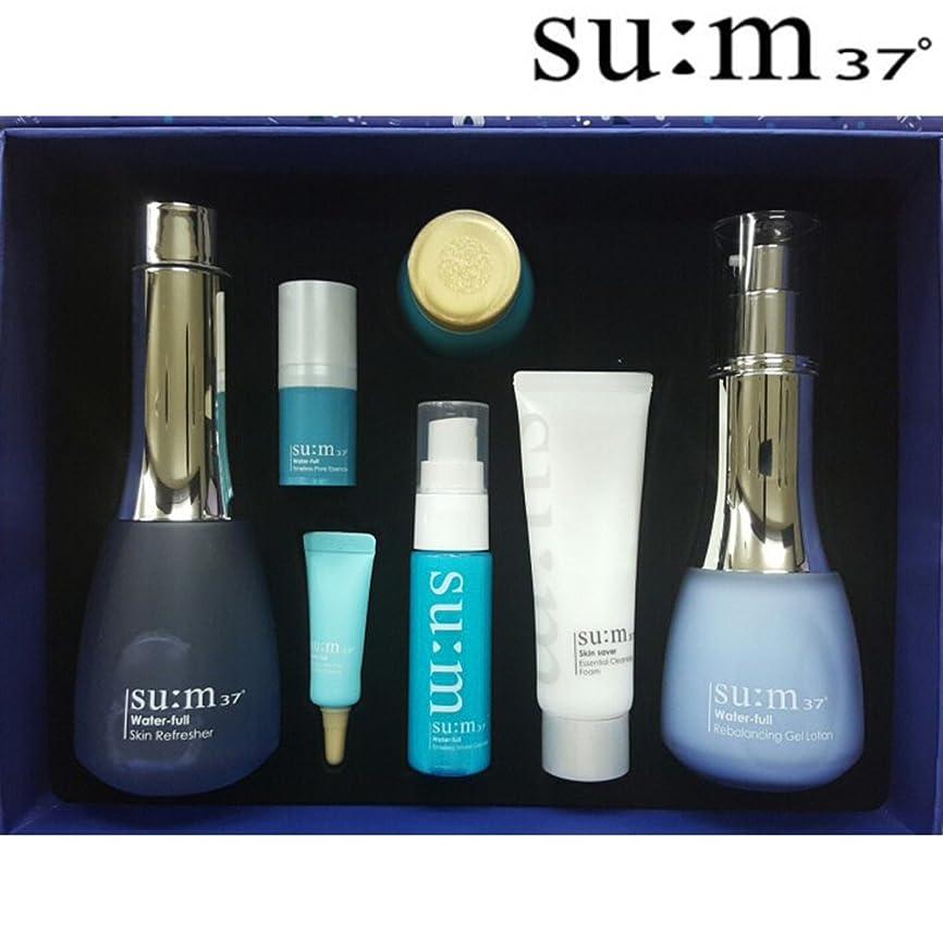 織機速記フォーラム[su:m37/スム37°] Sum37 Water full 2 Piece Special Set / SUM37 ?スム37 ウォーターフルスキン+ジェルローション 2種 +[Sample Gift](海外直送品)