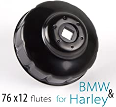 KiWAV MAG44 handlebar poign/ée de moto chrom/é pour Harley-Davidson