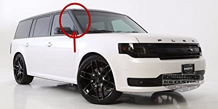 NAGD Compatible with 2009-2019 Ford Flex Windshield Outer Pillar Trim Molding Passenger Right Sides DVW1725 R/H