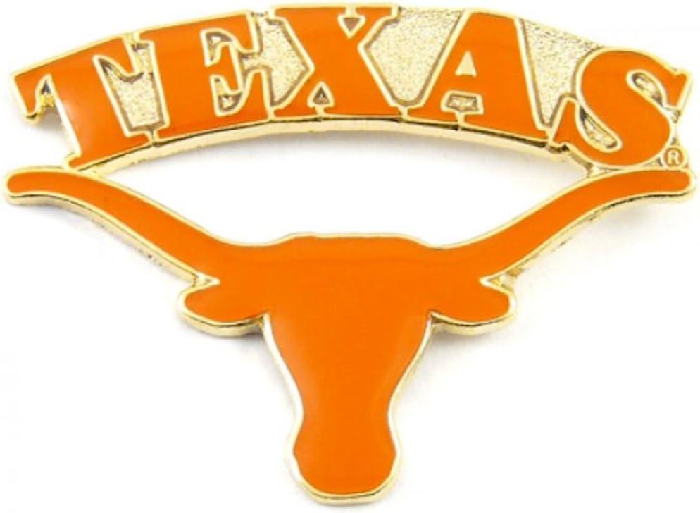 Max 51% OFF Texas Longhorns Enamel depot Pin Logo