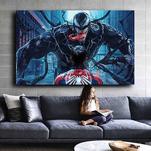 wojinbao Kein Rahmen Filmfiguren und Monster Plakate und Drucke an Wänden Kinderzimmer Dekoration Wohnkultur