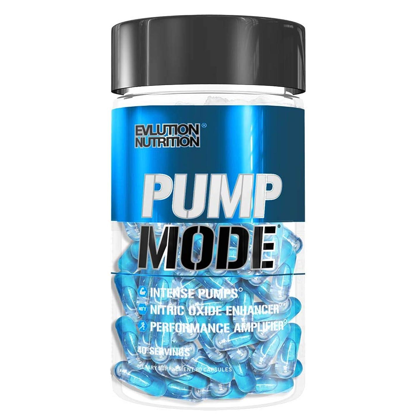 候補者カテゴリー糸PumpMode パンプモード Evlution Nutrition(エボリューションニュートリション)40回分 80粒[海外直送品]