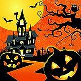 20 Servilletas Halloween espeluznante, calabaza, murciélago, 33 x 33 cm
