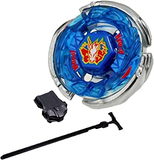 LINKDOO Best Bey BB-28 Storm Pegasus Metal 4D High Cosmic Pegasus l Drago Masters Fusion Metal Performance Game Toys and Bey Ruler String Launcher Gift Toys for Children