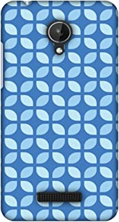 Micromax Canvas Spark Q380 Case, Premium Handcrafted Designer Hard Shell Snap On Case Shockproof Printed Back Cover for Micromax Canvas Spark Q380 - Geometric Flowers 3