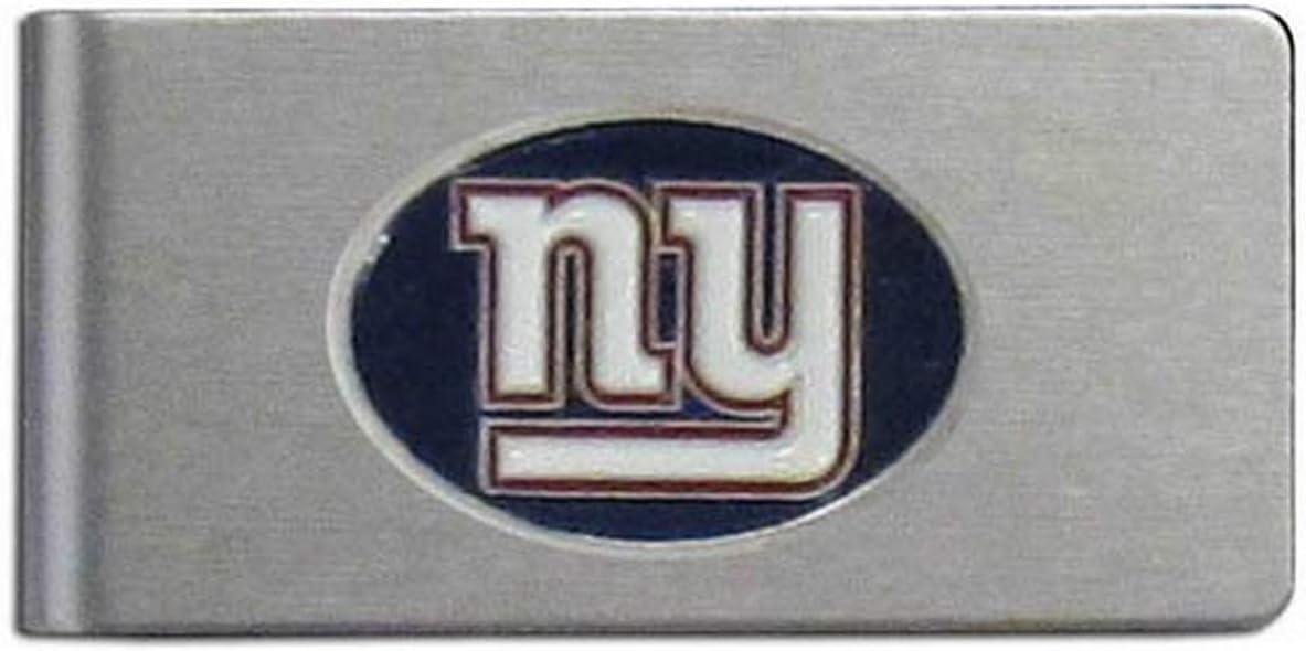 NFL Siskiyou Sports Mens Atlanta Falcons Brushed Metal Money Clip One Size Team Color