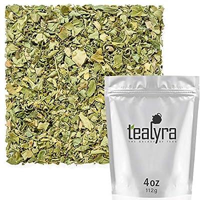 Tealyra - Pure Moringa Leaf Tea - Super Healthy Wellness Loose Tea - Drumstick Tree - rich in Antioxidants and Vitamins - Caffeine-Free - 112g (4-ounce) from Tealyra