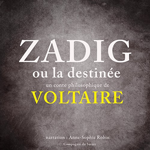 Couverture de Zadig ou la Destinée