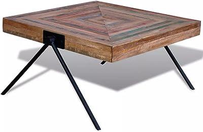 Sisizhang Tavolino Basso Tatami Realizzato A Mano In Rattan Con Finestra A Golfo Da Balcone Da Studio Legno Bianco 43 43 30cm Amazon It Casa E Cucina