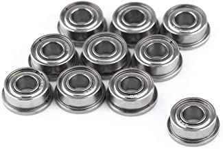 10pcs F684ZZ Double-Shielded Miniature Flanged Ball Bearings 4x9x4mm for 3D Printer Model High Resistance