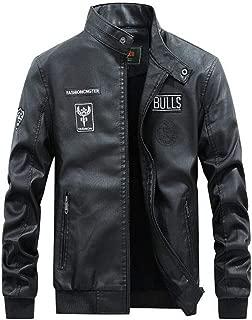 LKOMARKET-本革じゃん メンズ バイク ジャケット 皮ジャン ma-1 トップス ライダースジャケット 大きいサイズ レザージャンパー 合皮 裏起毛 防寒 冬 jacket ダウンコート モッズコート本皮 スポーツ