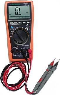 AideTek VC99+ Digital Auto Range Multimeter Tester Capacitor Amp Voltage AC DC Analog Bar Buzz