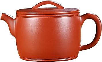 Yixing fioletowy gliniany czajniczek czysty ręcznie robiony czajniczek zestaw do herbaty surowej rudy Zhuni Dahongpao gład...
