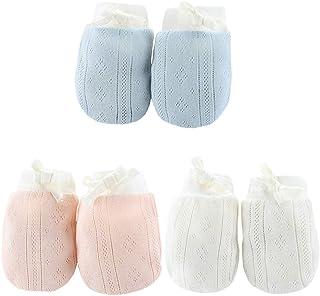 gants pour b/éb/és Babymajawelt/® Mitaines bleu pour les nouveau-n/és