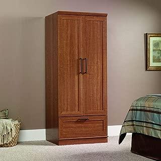 Sienna Oak Wardrobe Clothes Storage Cabinet Armoire