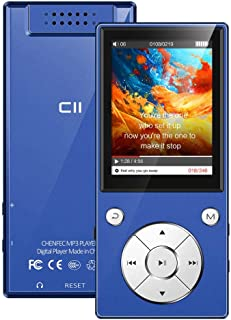 MP3 Player Bluetooth4.2 Built-in Speaker 16GB with 2.4 Inch TFT Color Screen Lossless Sound Music Video Player with FM Rad...