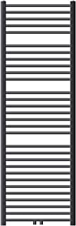 ECD Germany Radiador de Baño Moderno - 600 x 1800 mm - Antracita - Plano - Con Conexión Lateral - Acero - Calefactor Toallero - Calentador y Secador de toallas - Diseño Escalera - No Eléctrico