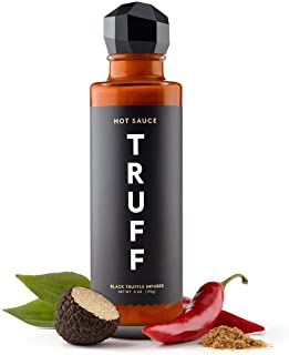 TRUFF Hot Sauce, Gourmet Hot Sauce with Ripe Chili Peppers, Black Truffle Oil, Organic Agave Nectar, Unique Flavor Experie...