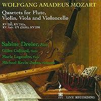 Quartets for Flute Violin Viola & Vilonce