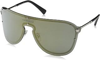 Versace Women's Oversized Shield Sunglasses