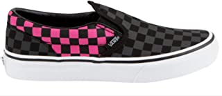Vans Girl's Classic Checkerboard Slip On Skate Shoes