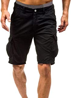 e75ed572e27 iLXHD Men s Spring Summer Shorts Sports Work Casual Army Combat Cargo  Shorts Pants Trousers Sweatpants