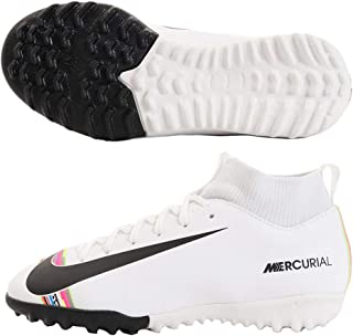 kids black football boots