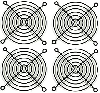 Set of Two Circotech 120mm Black Wire Fan Grill//Guard
