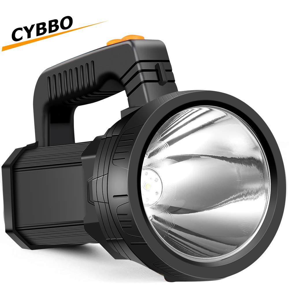 Spotlight Flashlight Rechargeable Waterproof Floodlight