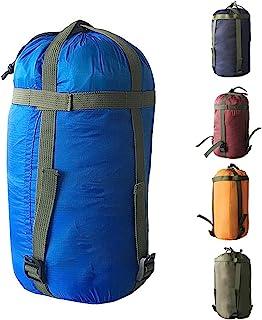 HIKEMAN Sac de Rangement de Compression de Tente r/églable Sacs de Couchage l/égers Sac de Rangement pour Le Camping Activit/és de Plein air