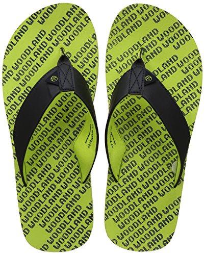 Woodland Men's Bright Green Flip Flop-7 UK/India (41 EU) (FF 2118116)