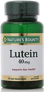 Nature's Bounty Lutein 40mg Softgels - 30 Softgels