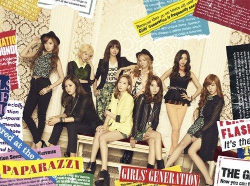 girls generations SNSD Girls' Generation - PAPARAZZI (CD+DVD) [KOREA Ver.] + Extra Gift Photocards Set